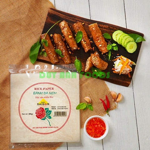 Springroll Rice Paper - Special Foods from Duy Anh - Deep Fried Rice Paper - Crispy Rice Paper - Rice Paper for DeepFry