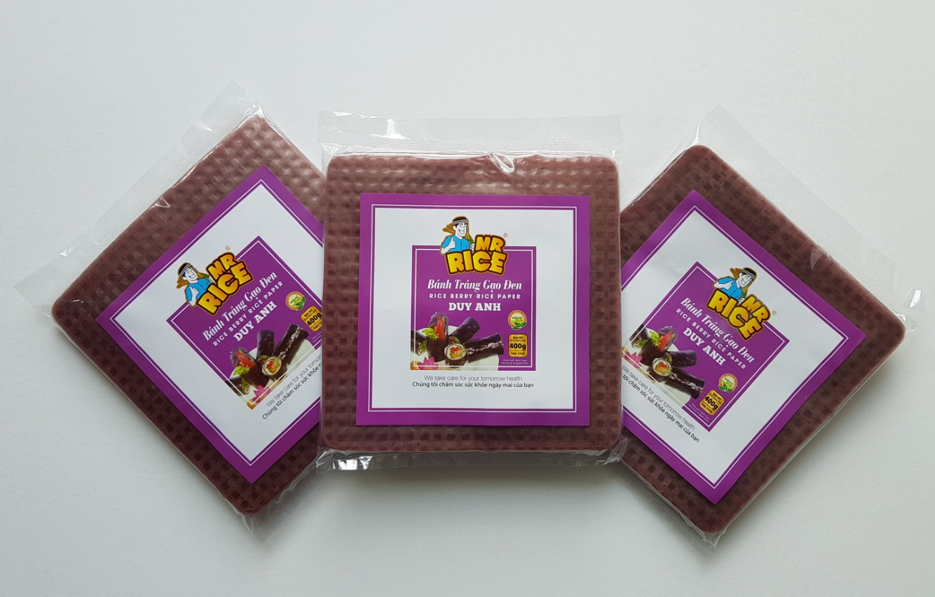 RED BERRY RICE PAPER - SIZE: 22 X 22CM - DUY ANH