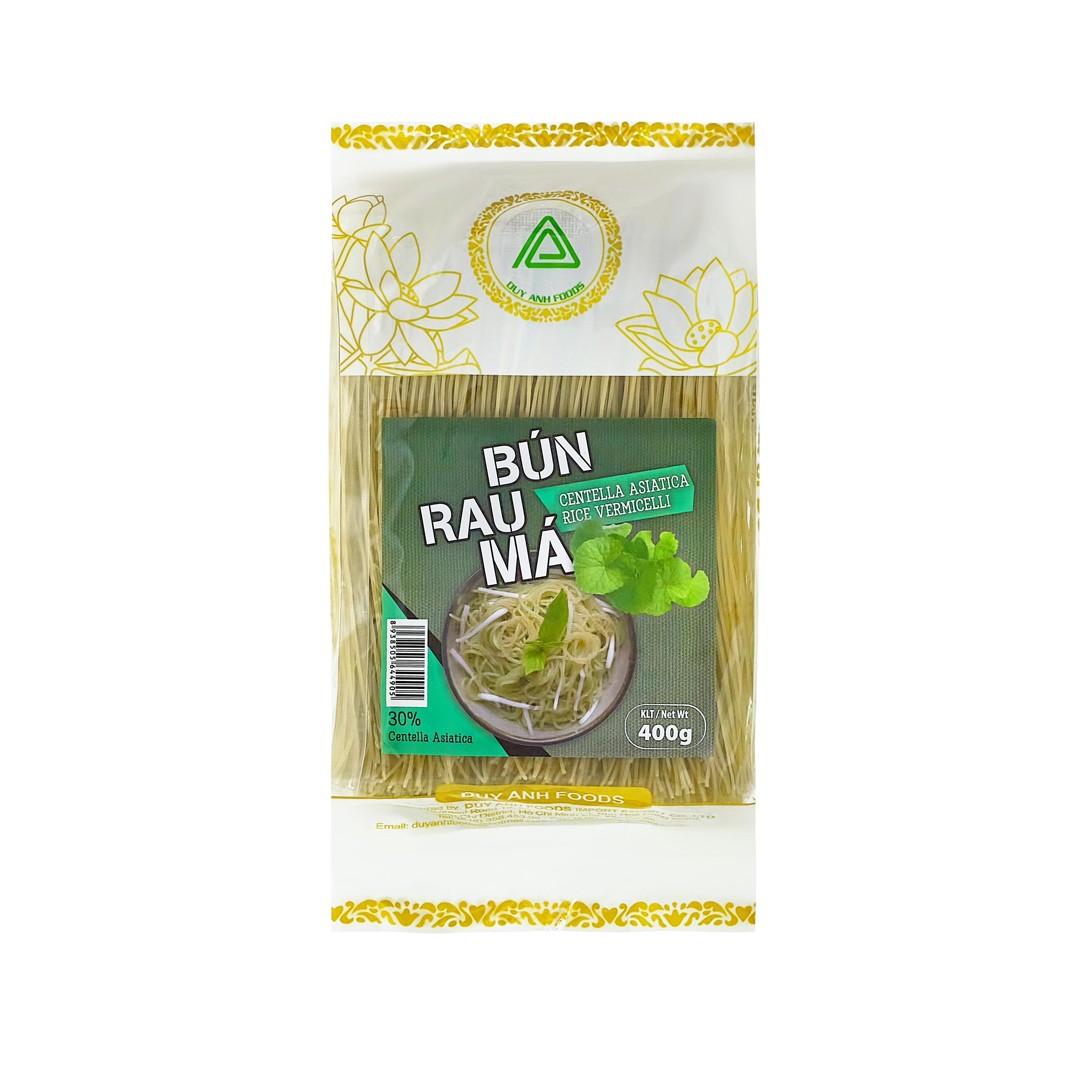 CENTELLA ASIATICA RICE VERMICELLI - DUY ANH FOODS