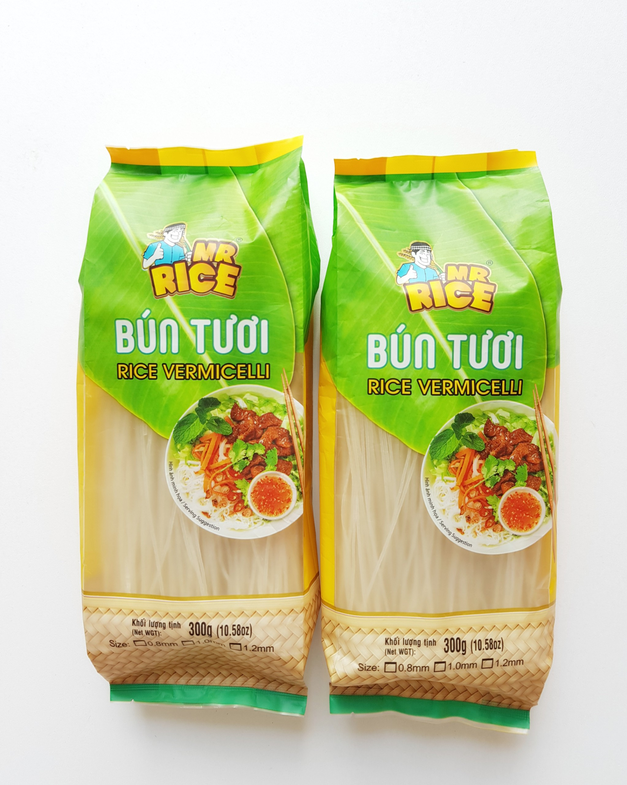 RICE VERMICELLI - MR RICE BRAND - EXPORTING QUALITY - 300G