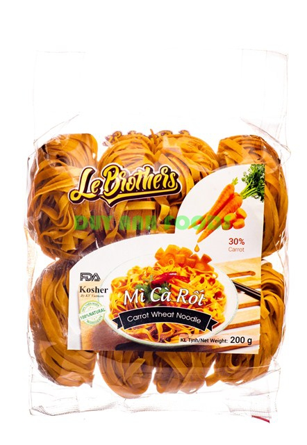 Carrot Wheat Noodle