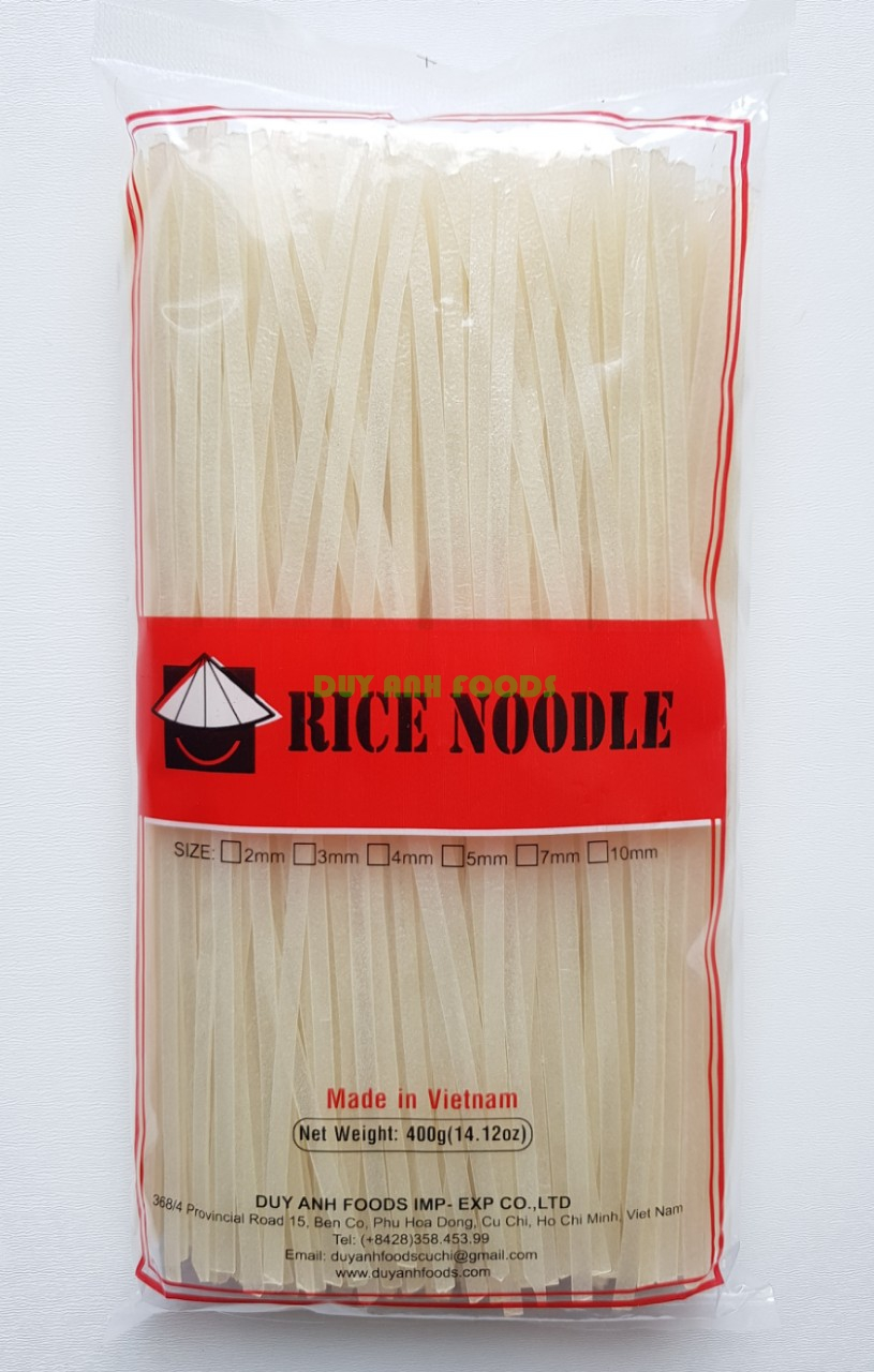 RICE STICK - STRAIGHT RICE NOODLE - RICE NOODLE 2mm, 4mm
