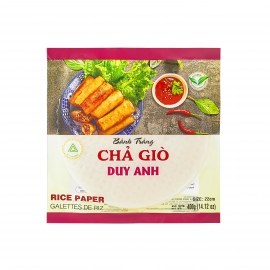 Springroll Rice Paper 22cm - Duy Anh - Yellow, Crispy