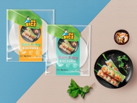 RICE PAPER MR RICE BRAND - 16CM & 18CM - for Freshroll