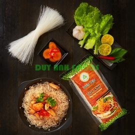 Premium Mung Bean Vermicelli - Duy Anh Foods - Lotus Seed Mung Bean Vermicelli - Mung Bean Vermicelli