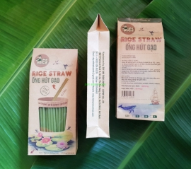 RICE STRAW – MR RICE - MADE FROM 100% PURE RICE - SAVE THE PLANET!