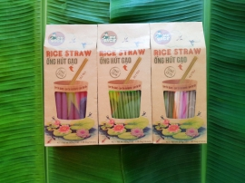 RICE STRAW – MR RICE - MADE FROM PURE RICE