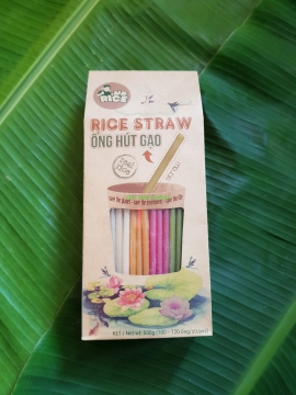 MR RICE - RICE STRAW - 100% VIETNAMESE JASMINE RICE - SAVE THE PLANET!