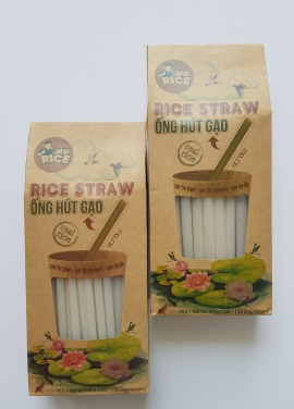 RICE STRAW – MR RICE - SIZE M: 8MM - A special Item of DUY ANH FOODS