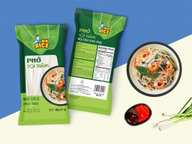 RICE STICK (PAD THAI) - MR RICE - 400G